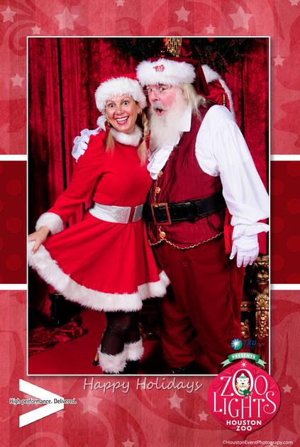 Santa Photos in Houston