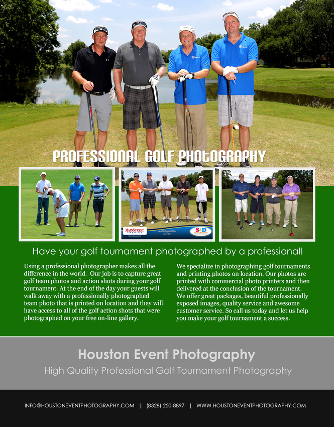 Houston Golf Tournament Photography