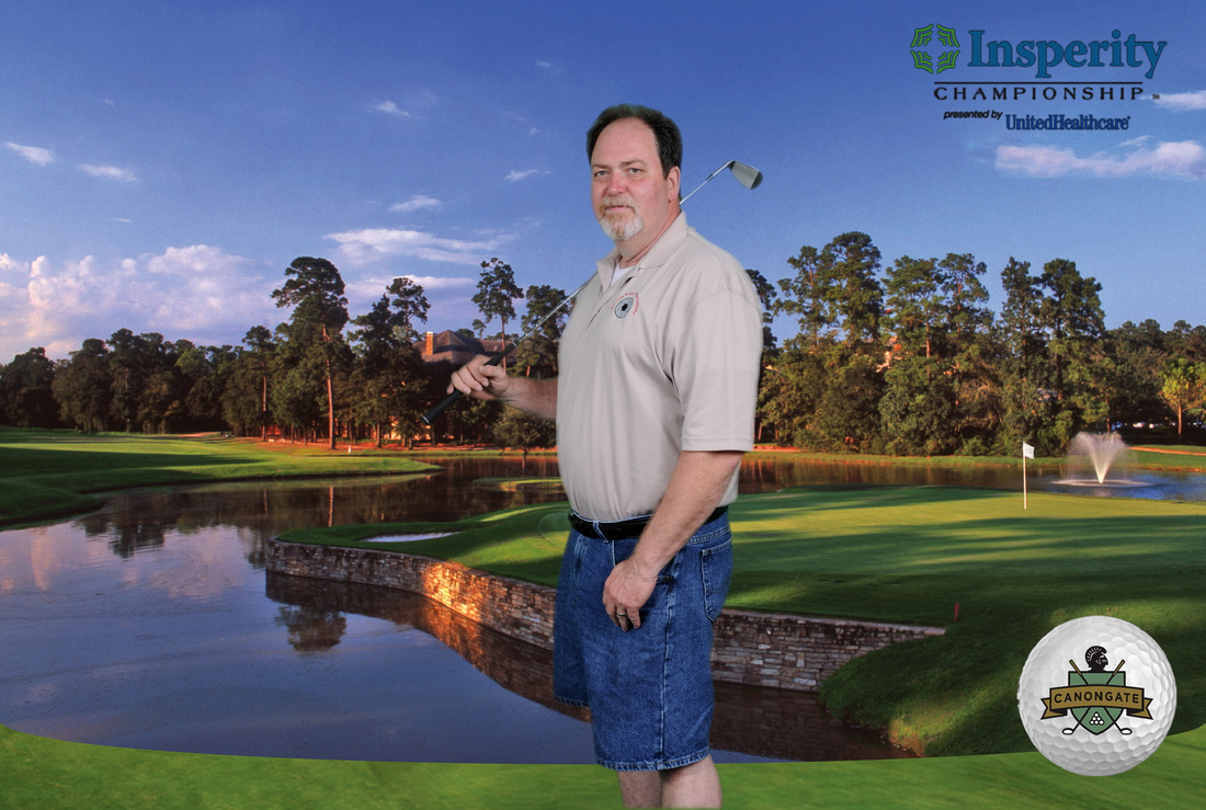 Insperity Golf Tourament Photography