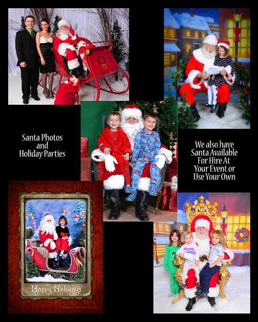 Houston Santa Photo Samples