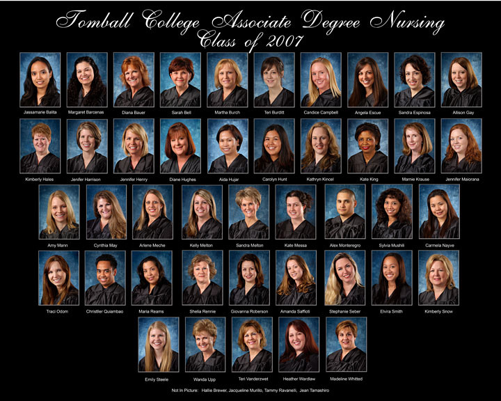 Nursing School Photo COmposite