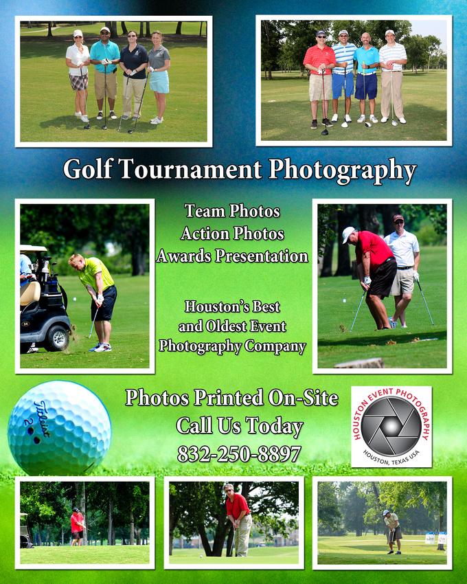 Houston Golf Tournament Photography