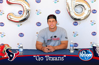 Kroger's and Texans Fan Event at Kroger Market Place Tomball, Texas
